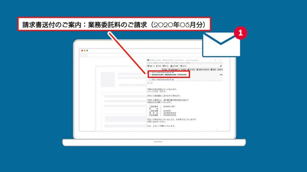 見積書・請求書・納品書・領収書を電子メールで送るときは件名を工夫しよう